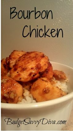 bourbon chicken- trying this recipe for dinner tonight!