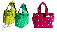 "DIY Fashion: No sew handbag in 2 minutes (just 1 yard of fabric 44"" X 36"")…"