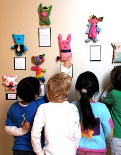 Stuffed with stories, excellent display. - great idea for a program - tween and their adults working together to create stuffed creature and story to display