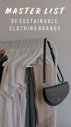 Low waste outfit A full directory of sustainable brands all in one easy spot! Sustainable Clothing Brands, Sustainable Fashion, Sustainable Living, Sustainable Clothes, Sustainable Ideas, Sustainable Companies, Sustainable Products, Sustainable Style, Sustainable Energy