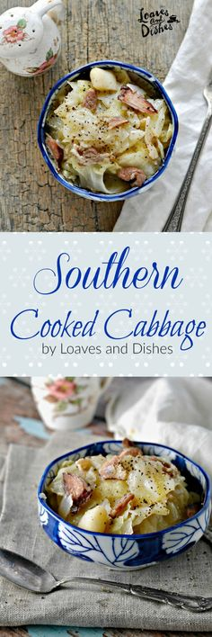 Delicious Deep South Southern Home Cooking the way your Mama and Grandmama did - or at least the way you wished they did. Easy recipe. Simple Instructions. Stewed Cabbage, Fried Cabbage, Cooked Cabbage