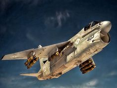 A-7. If you can't find the cool in this plane, well, then, why not?