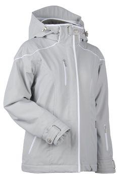 NILS Andrea ski/snow jacket in Silver Medal. **Let it SNOW!