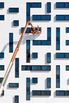 Tetris Grid Facade Fenestration | Grids in Architecture