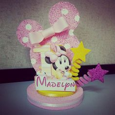 Minnie Mouse 1st Birthday Party Favor/ by DesignzbyGlo on Etsy, $15.00