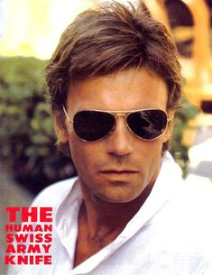 The Human Swiss Army Knife. Best Tv Shows, Best Shows Ever, Favorite Tv Shows, Pretty Men, Beautiful Men, Macgyver Richard Dean Anderson, Ally Mcbeal, Devious Maids, Movies