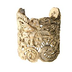 Alkemie Jewelry - Large Antique Lace Cuff