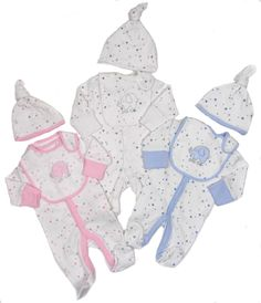 Premature Baby 3-5 Lb Velour All In One Fragrant Aroma One-pieces