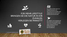 Für mehr Lifestyle! ✨ Bringen Sie die Natur in Ihr Zuhause🌱 Verlegen Sie Parkett! | Real Wood Qualitätsböden Real Wood, Flooring, Stripping Paint, Ad Home, Nature, Life, Wood, Wood Flooring, Floor