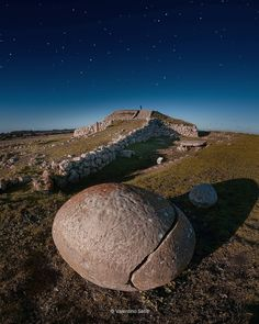 """The ancient pyramid found on the island of Sardinia is known as the """"Monte d'Accoddi"""" & features this enigmatic stone sphere. Link in bio to see it May 2019 on """"Ancient Sardinia Tour,"""" mention megalithic marvels when registering. Italy Vacation, Italy Travel, Amazing Destinations, Travel Destinations, Sardinia Italy, The Good Old Days, Great Pictures, Sicily, Places To Visit"""