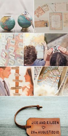 Travel Themed Wedding Ideas | Yes Baby Daily