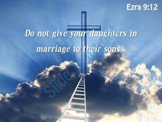 0514 ezra 912 do not give your daughters powerpoint church sermon Slide01  http://www.slideteam.net/