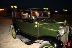 couple arrives Antique Cars, Wedding Photography, Studio, Couples, Antiques, Vintage Cars, Antiquities, Antique, Studios