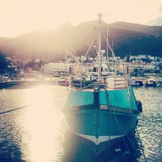 Fishing boat in kalk bay harbour What A Wonderful World, Fishing Boats, Cape Town, Boating, Continents, Wonders Of The World, Real Food Recipes, South Africa, Sticks