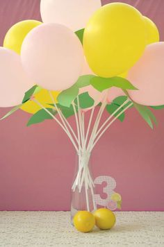 The Twincesses Pink Lemonade Party! | CatchMyParty.com