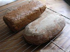 Chleb żytni upieczony na zakwasie Food And Drink, Bread, Baking, Brot, Bakken, Breads, Backen, Buns, Sweets