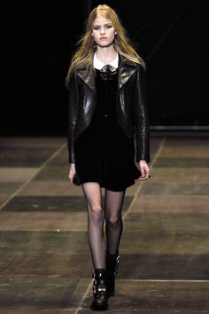 Saint Laurent Fall 2013 RTW - Runway Photos - Fashion Week - Runway, Fashion Shows and Collections - Vogue