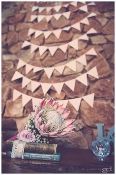 Protea wedding bouquets © a photo by gd