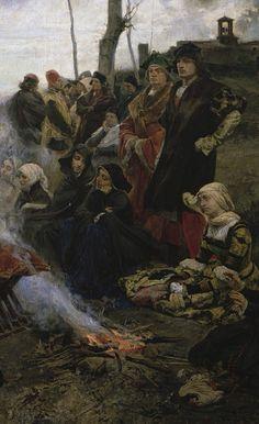 """templeofapelles: """"BEST OF THE PRADO 1 Francisco Pradilla y Ortiz Doña Juana la Loca, 1877 (Joanna the Mad) Museo del Prado, Madrid """""""