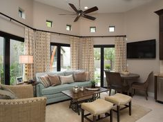 Want to visit Drew and Jonathan's place? Check out the guest house they built from the ground up alongside their remodeled Las Vegas home.