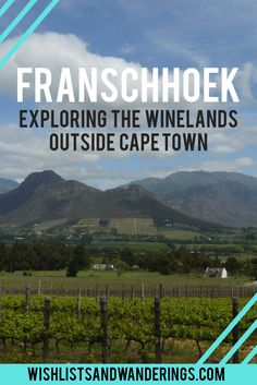 From wine farms, gourmet food and charm to French history, this small town a short drive from Cape Town is a great choice for a weekend roadtrip. South Afrika, Wine Safari, Road Trip, Namibia, Cape Town South Africa, Best Places To Travel, Africa Travel, Travel Inspiration, Travel Ideas