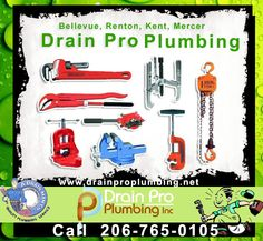 Drain Pro Plumbing Inc : Expert Plumbers and Plumbing  Sewer Services in King County, Pierce County, Snohomish County of Washington. drainproplumbing.net