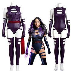 2016 New Arrival  X-men Psylocke Cosplay Costume Women's Reenactment Hallowmas