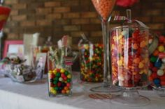 Candy Bar at Braylen's Candy Land party