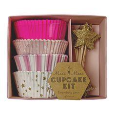 Toot Sweet Pink Cupcake Kit