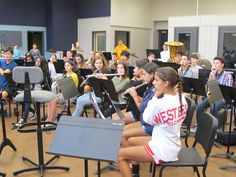 West Essex High School Students Sing the Praises of New Music Classrooms - When students returned to the band program at the North Caldwell school this fall, they were greeted with new music classrooms.