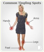 Tingling Extremities: is an unexpected symptom some women experience during menopause. Areas commonly affected are feet, legs, arms, & hands. In most cases, they are the result of hormone fluctuations. When estrogen is unbalanced, it can affect the central nervous system, producing symptoms like tingling extremities. While estrogen is the prime cause of tingling extremities during menopause, other medical conditions can trigger tingling in the hands, feet, arms and legs.