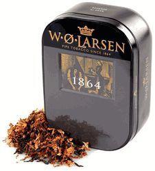 W.O. Larsen 1864 Perfect Mixture Pipe Tobacco Tin