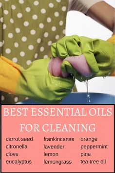 Here are the best essential oils for cleaning: they can clean just about anything. Learn how you can use them in your home.