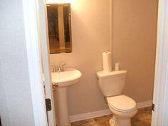 bathroom in finished basement