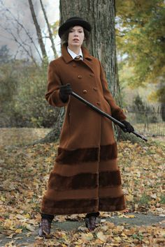 Vintage 70s MAXI Faux Fur coat Russian Princess by CedarBelle