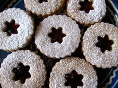 Linzer Cookies. Austria's favorite cookies use the same ingredients as the Linzertorte but present them in a different way! http://www.vikingrivercruises.com/myagent/TastefulJourneys/
