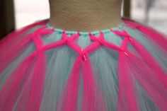 Crafting & Coffee Makes this Momma Happy: How to make Abbys TuTu Factory signature criss cross tutu - My DIY Tips Tulle Projects, Tulle Crafts, Diy Tutu, Sewing Crafts, Sewing Projects, How To Make Tutu, Coffee Crafts, Tulle Dress, Tutu Dresses