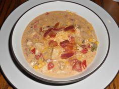 Hezzi-D's Books and Cooks: Jalapeno Popper Chicken Chili #SundaySupper