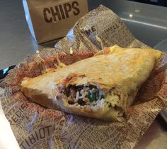 Hidden Menu Items From Your Favorite Restaurants : Chipotle: Burritodilla