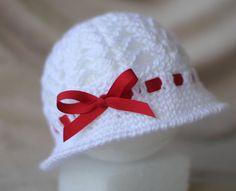 Valentine's Day Baby Hat #crochet #baby