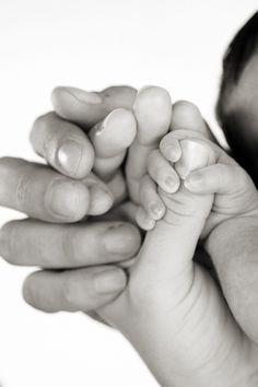 dad, mom, & baby
