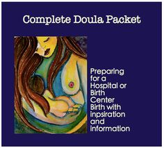 Complete Doula INFO Packet to hand out to clients