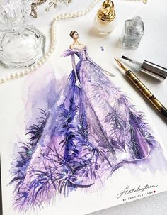 Fashion sketches illustration beauty 55 Ideas for 2019 Fashion Design Sketchbook, Fashion Design Drawings, Fashion Sketches, Art Sketchbook, Fashion Drawing Dresses, Fashion Illustration Dresses, Fashion Illustrations, Drawing Fashion, Design Illustrations