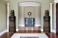 The 35 Most Expensive Home Theater Speakers in the World Today In Wall Speakers, Home Theater Speakers, Home Theater Rooms, Stereo Speakers, Expensive Houses, Most Expensive, Small Home Theaters, Car Audio Installation, Media Room Design
