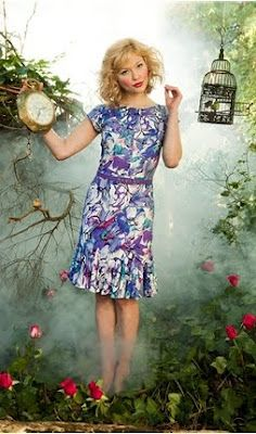 Calloh! Callay!   - Alice in Wonderland Inspired Dress