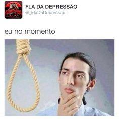 Zoação Fla suicídio