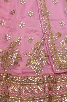 Zardozi Embroidery, Hand Embroidery Dress, Embroidery Suits Design, Lehenga Saree Design, Pakistani Dress Design, Lehenga Choli, Rajasthani Bride, Rajasthani Dress, Punjabi Suits Designer Boutique