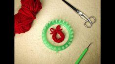 Knitting Loom Dolls, Loom Knitting Projects, Christmas 2015, Merry Christmas, Loom Patterns, Knit Crochet, Crochet Earrings, Drop Earrings, Crafts