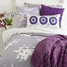 Reversible Twin XL Duvet Cover Set - Believe/Pinwheel - Duvet Covers - Bed