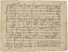 The manuscript is described as Allegretto In B Minor For String Quartet composed and written by Beethoven--fake? B Minor, Short Words, String Quartet, Sheet Music, Writing, This Or That Questions, Composers, History, Musica